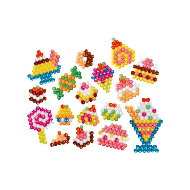 Combo Aquabeads Minhas Criações + Doceria  - Game Land Brinquedos
