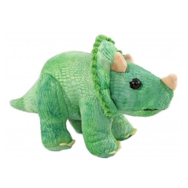 Dinossauro Bicho de Pelúcia Triceratops Pelucia Antialérgica  - Game Land Brinquedos