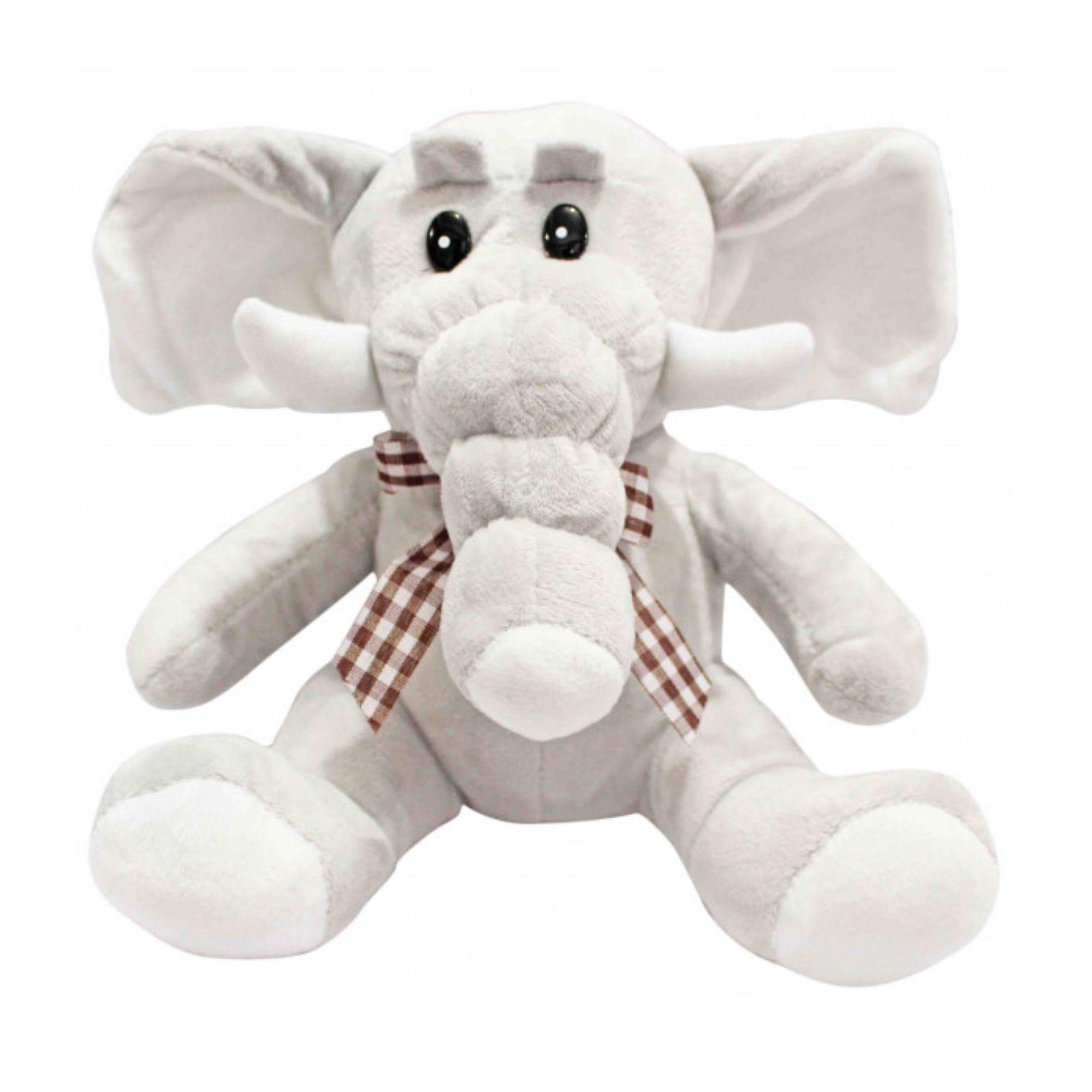 Elefante de Pelucia Fofo Antialérgico  - Game Land Brinquedos