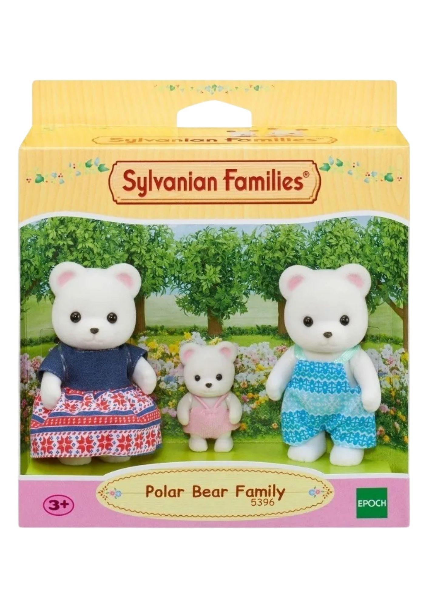 Familia Dos Ursos Polares Sylvanian Families Epoch  - Game Land Brinquedos