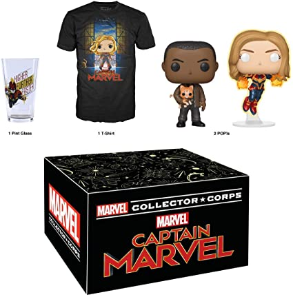 Funko Box Capita Marvel Collector Corps  - Game Land Brinquedos