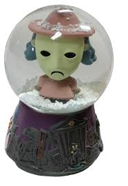 Funko Globo de Neve Disney Nightmare Before Christmas Shock  - Game Land Brinquedos