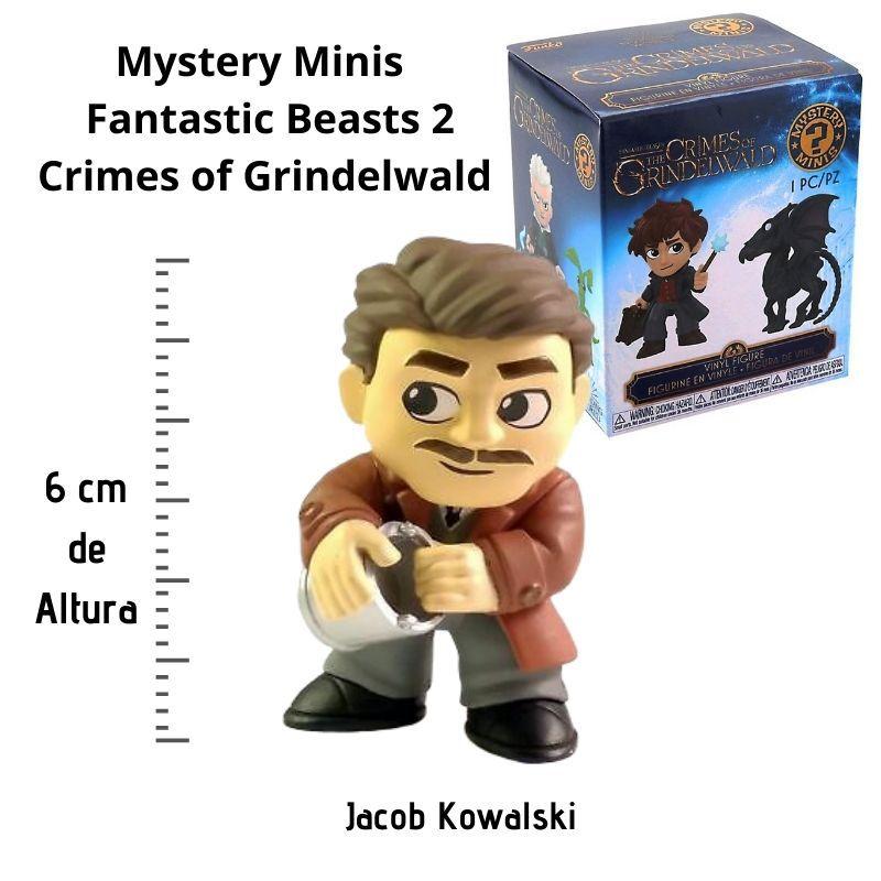 Funko Mini Mystery Animais Fantásticos Jacob Kowalski  - Game Land Brinquedos