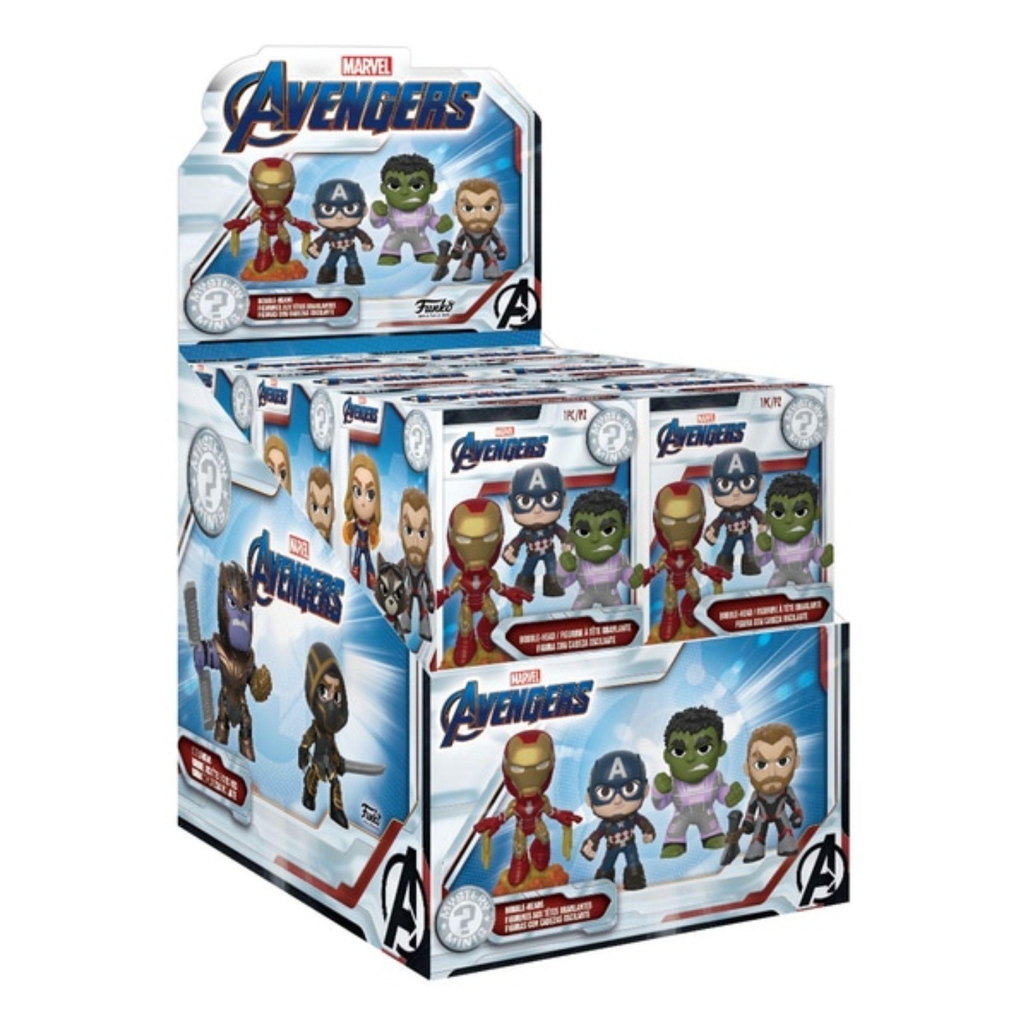 Funko Mini Mystery Avengers Bobble-Head Thor  - Game Land Brinquedos