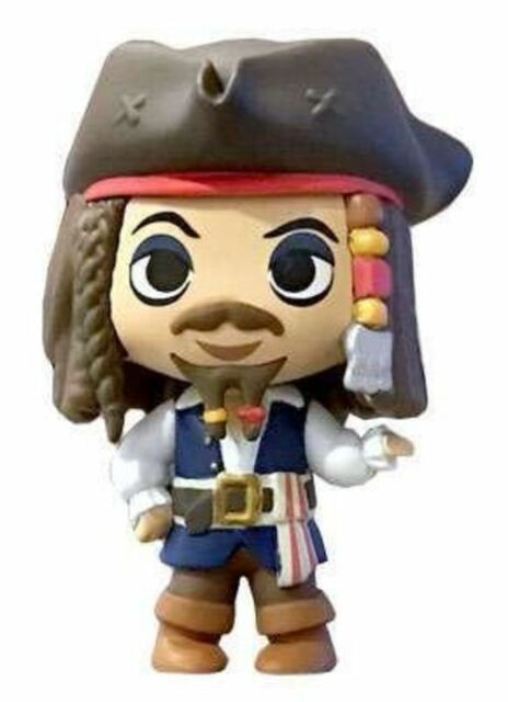 Funko Mini Mystery Disney Treasures Jack Sparrow Piratas do Caribe  - Game Land Brinquedos