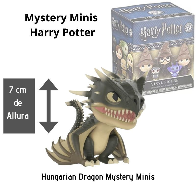 Funko Mini Mystery Harry Potter Hungarian Dragon   - Game Land Brinquedos