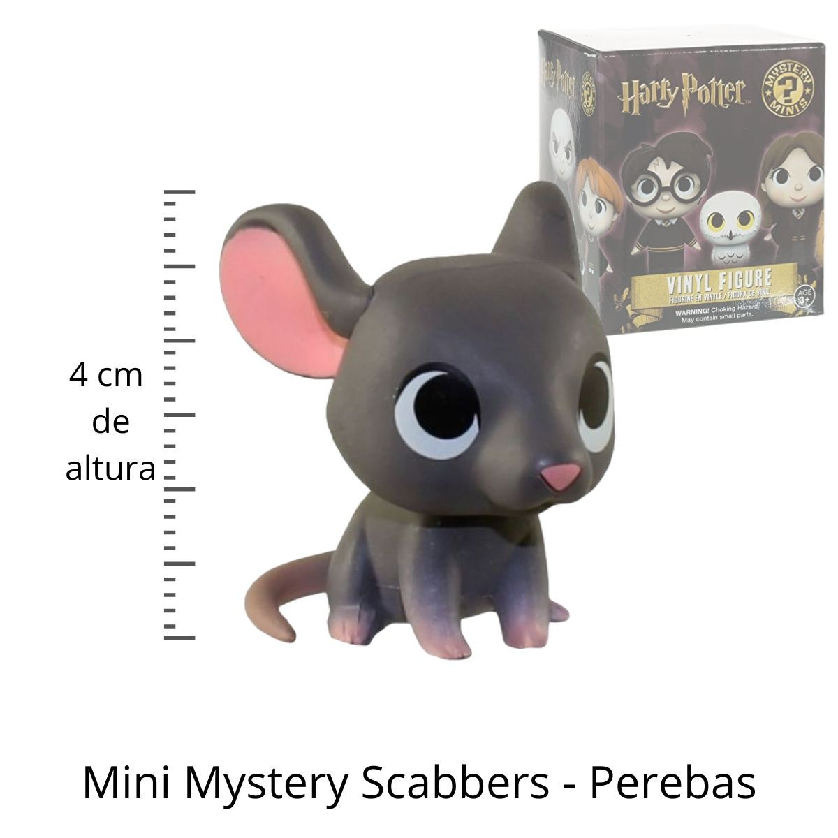 Funko Mini Mystery Harry Potter Perebas Scabbers  - Game Land Brinquedos