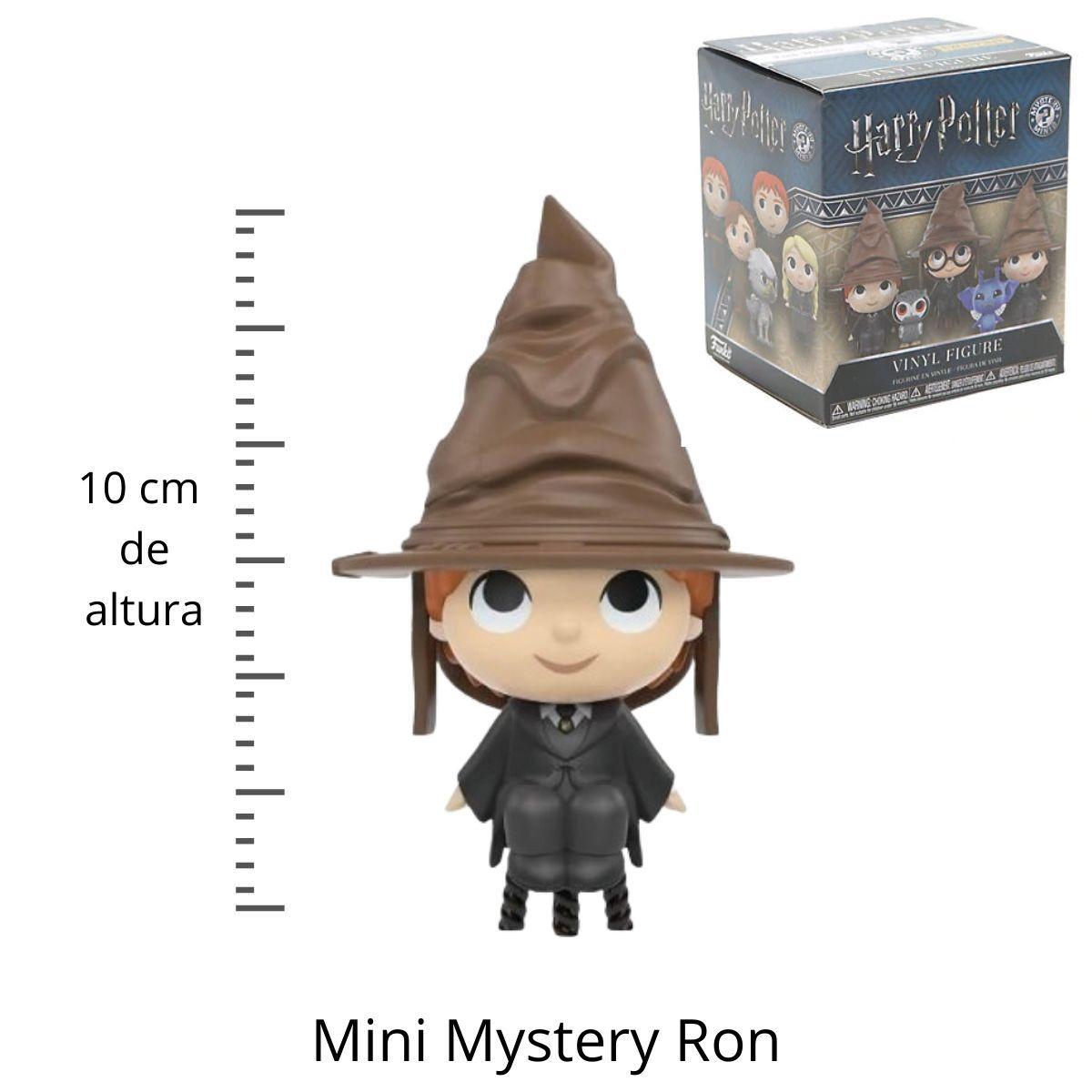 Funko Mini Mystery Harry Potter Ron Weasley com Chapeu  - Game Land Brinquedos