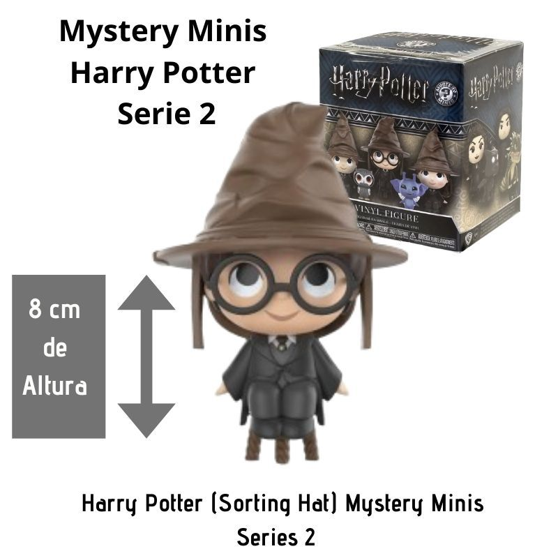 Funko Mini Mystery Harry Potter Série 2 - Harry Potter com Chapéu Seletor  - Game Land Brinquedos