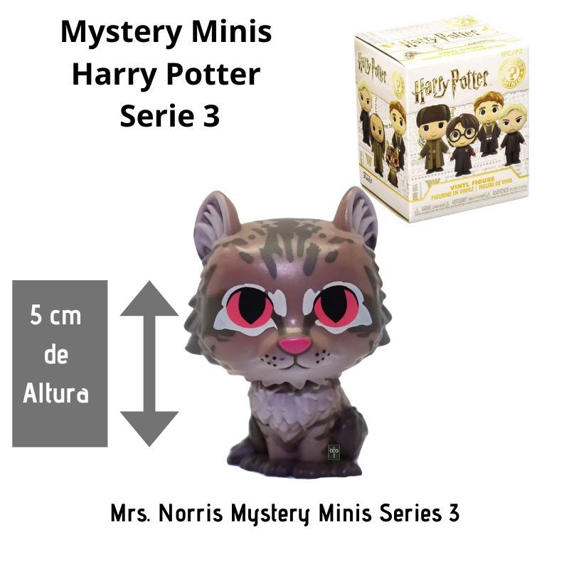 Funko Mini Mystery Harry Potter Série 3 - Mrs Norris  - Game Land Brinquedos