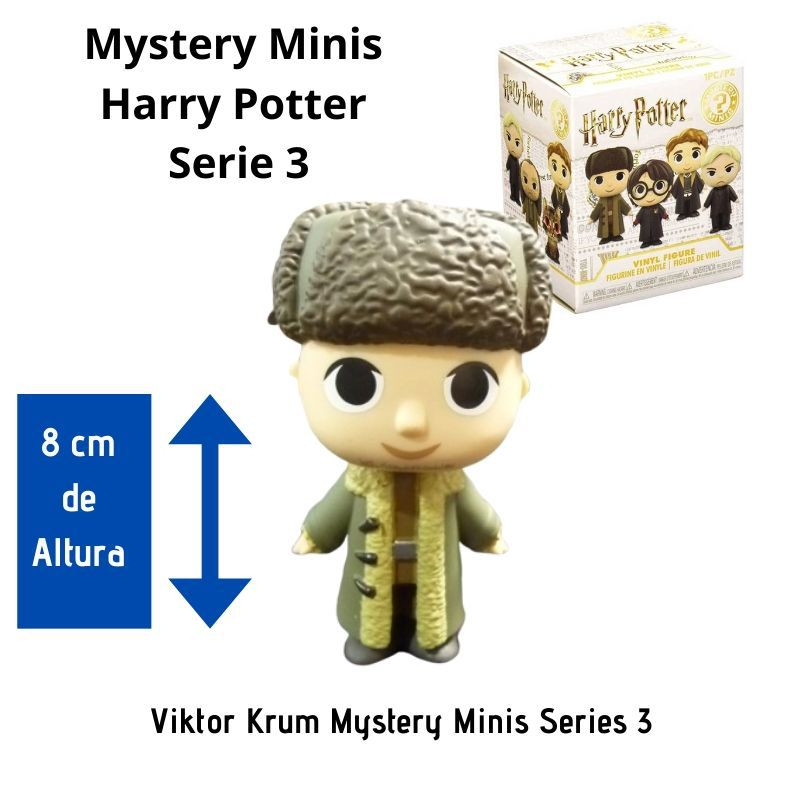 Funko Mini Mystery Harry Potter Série 3 - Viktor Krum  - Game Land Brinquedos