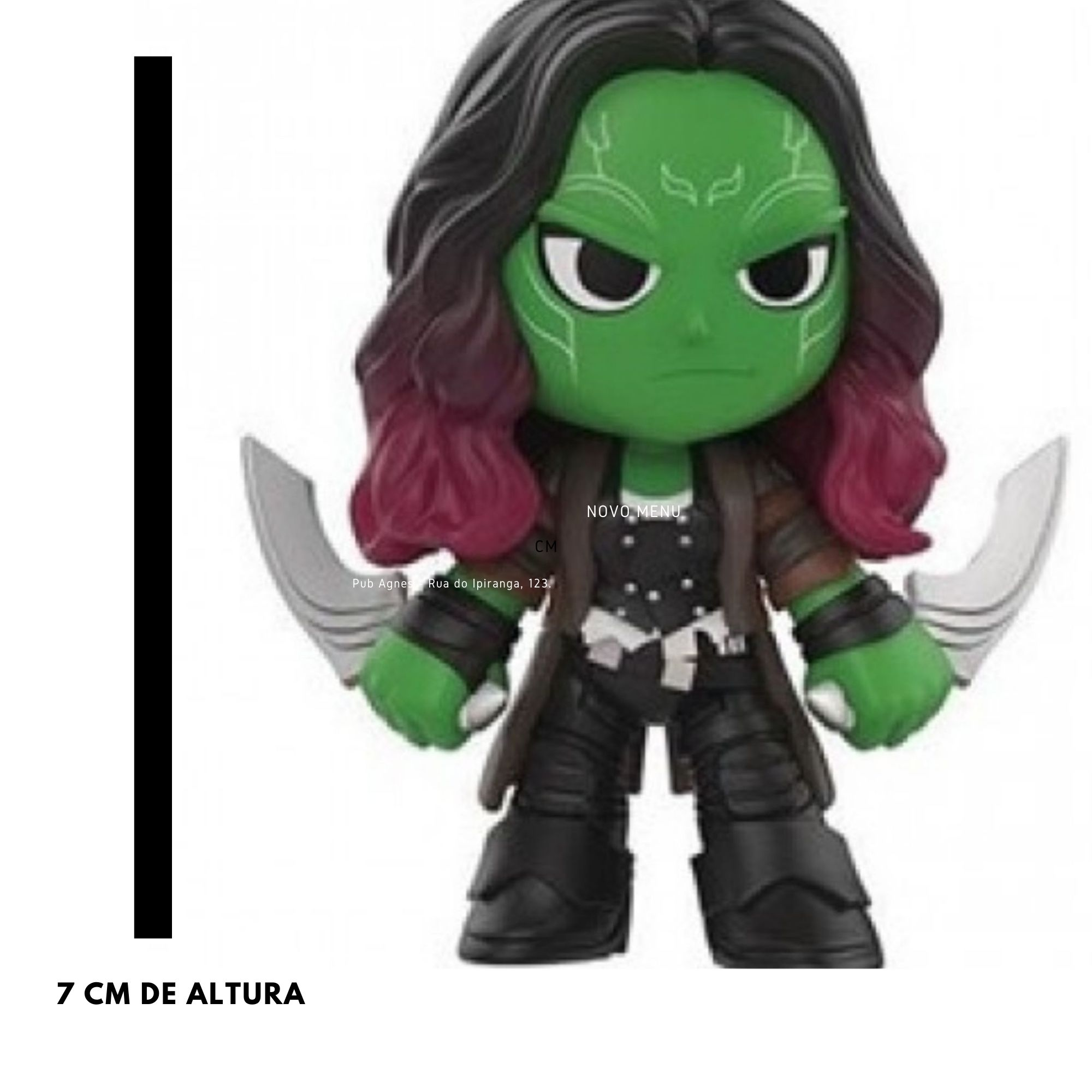 Funko Mini Mystery Marvel Gamora Infinity War   - Game Land Brinquedos