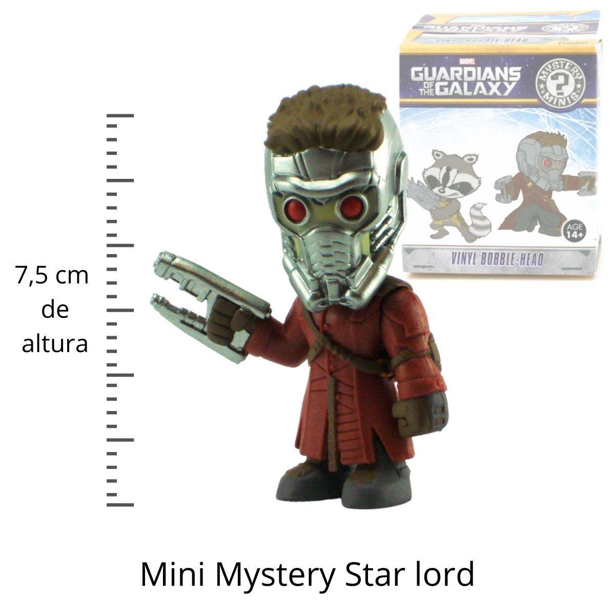 Funko Mini Mystery Marvel Star Lord  - Game Land Brinquedos
