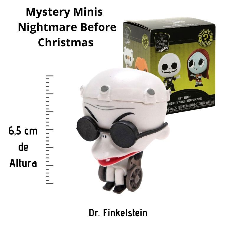 Funko Mini Mystery Nightmare Before Christmas Dr. Finkelstein  - Game Land Brinquedos