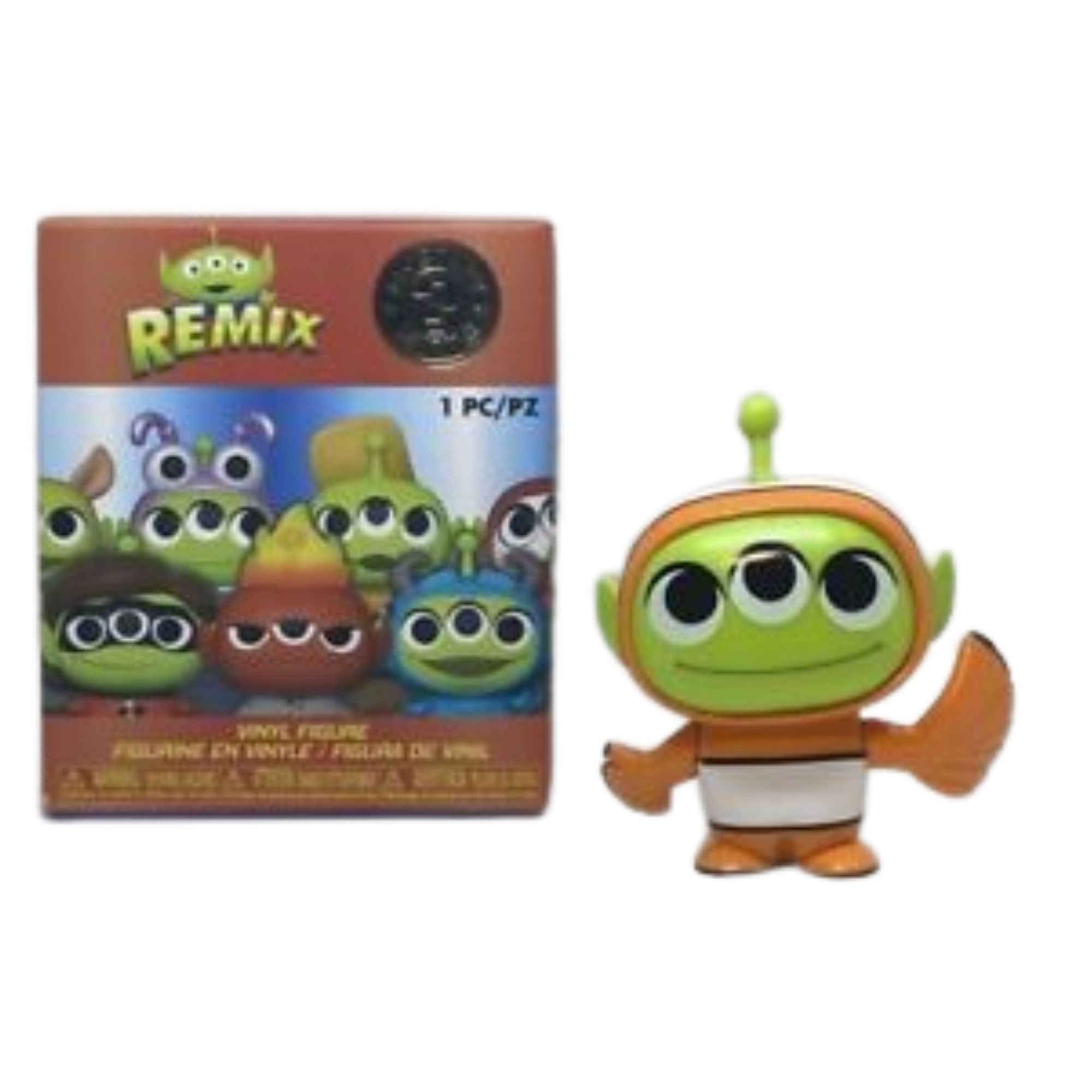 Funko Mini Mystery Remix Alien Nemo Disney  - Game Land Brinquedos
