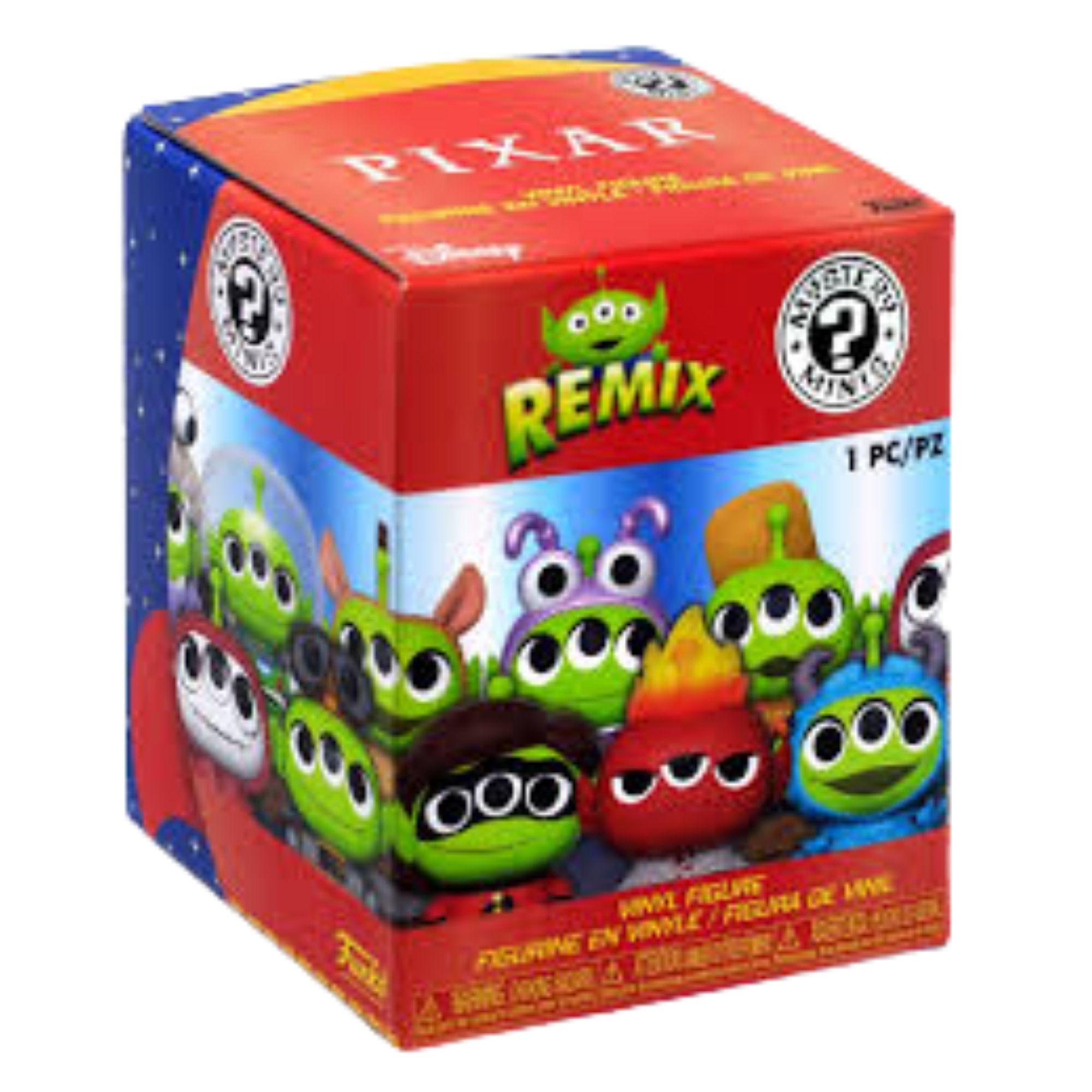 Funko Mini Mystery Remix Alien Pixar Boo Monstros  - Game Land Brinquedos