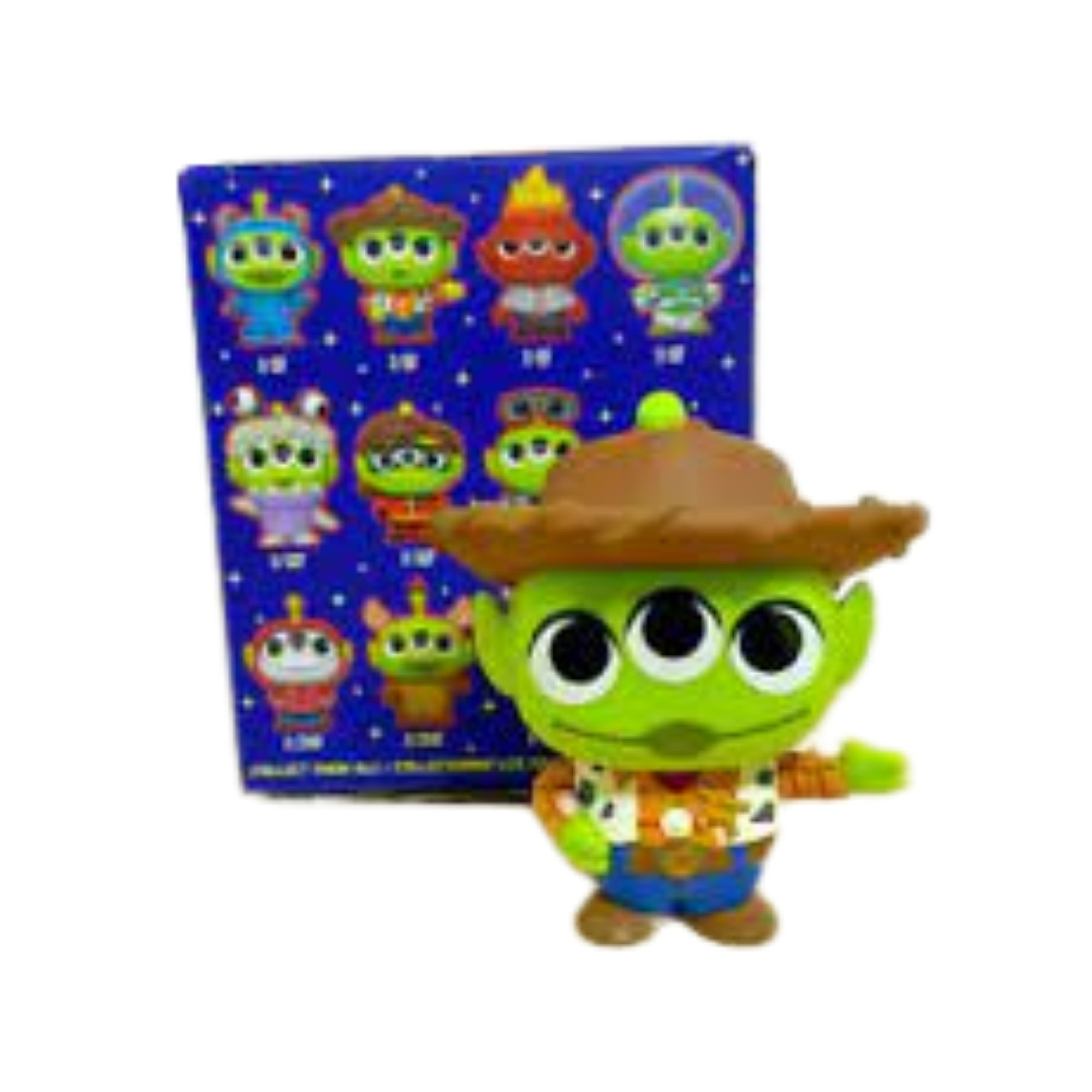 Funko Mini Mystery Remix Alien Woody Toy Story  - Game Land Brinquedos