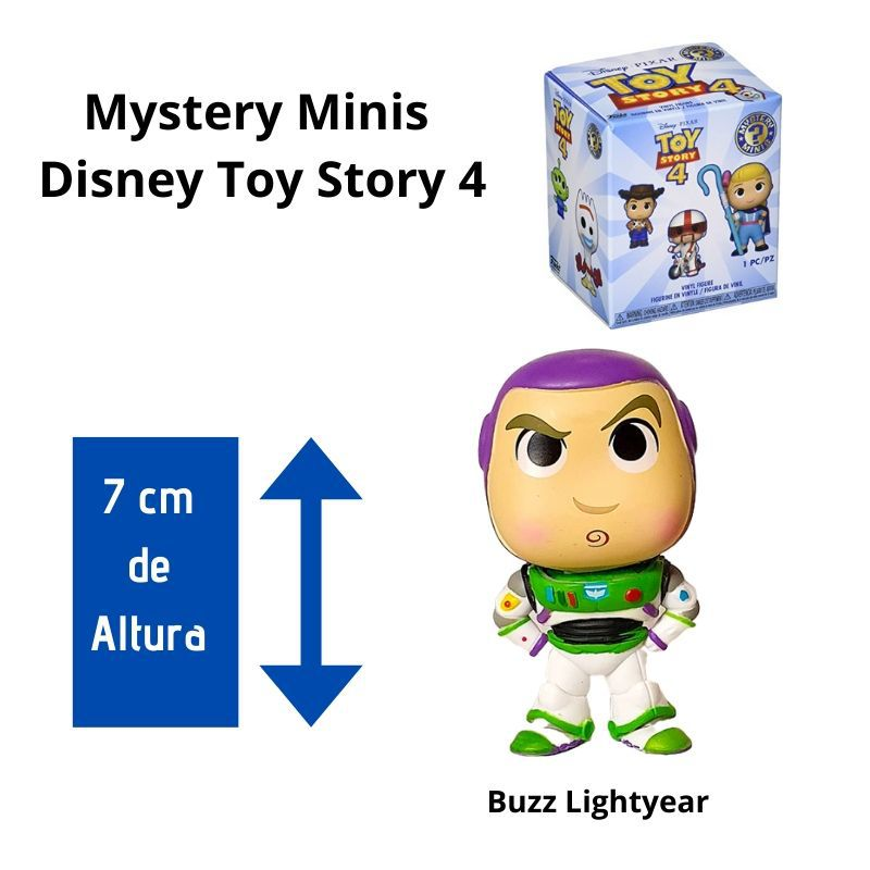Funko Mini Mystery  Toy Story Buzz Lightyear  - Game Land Brinquedos