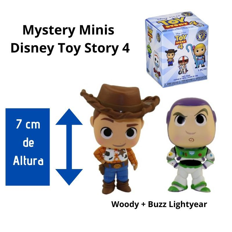 Funko Mini Mystery  Toy Story Combo Buzz + Woody  - Game Land Brinquedos