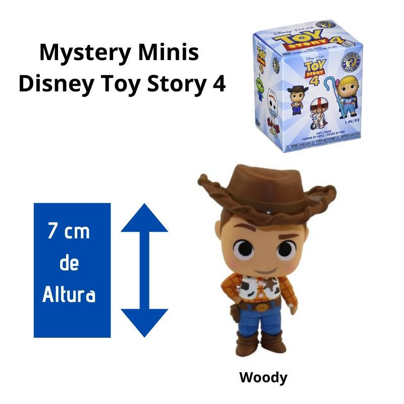 Funko Mini Mystery  Toy Story Woody  - Game Land Brinquedos