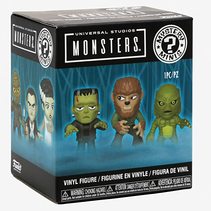 Funko Mini Mystery Universal Monsters Werewolf Lobisomem  - Game Land Brinquedos