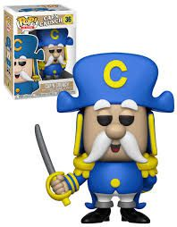 Funko Pop Ad Icons  Capn Crunch  - Game Land Brinquedos