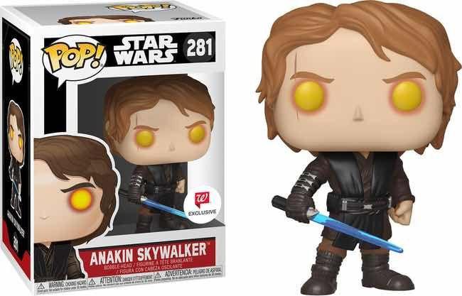 Funko Pop Anakin SkyWalker Walgreens Exclusive Star Wars 281  - Game Land Brinquedos