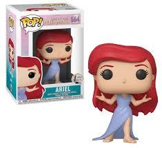 Funko Pop Ariel  A Pequena Sereia Disney 564  - Game Land Brinquedos