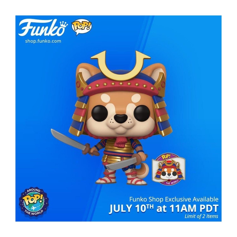 Funko Pop Around The World Toshi #07  - Game Land Brinquedos
