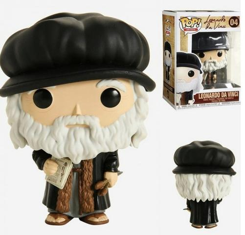 Funko Pop Artists Leonardo Da Vinci   - Game Land Brinquedos