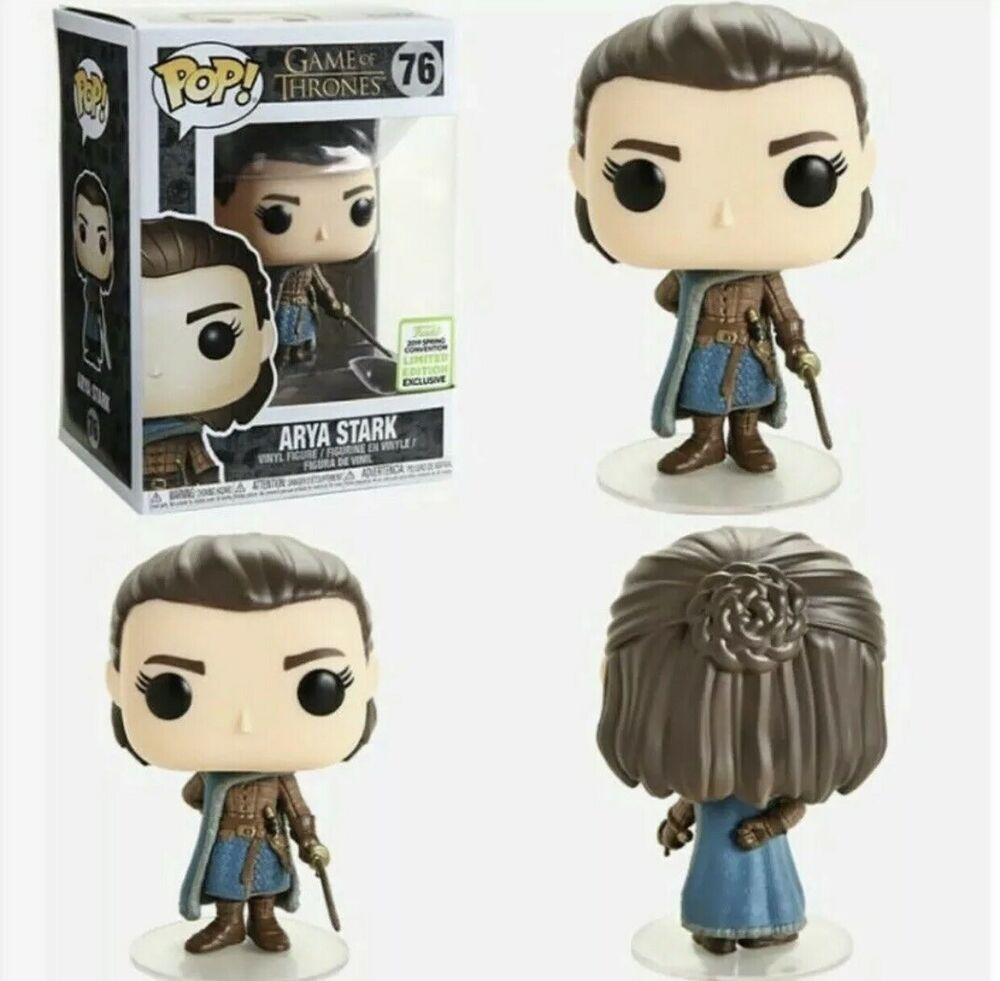 Funko Pop Arya Stark Game of Thrones Limitado Exclusivo ECCC  - Game Land Brinquedos