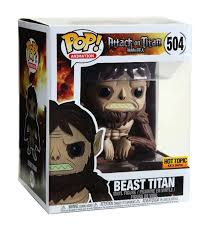 Funko Pop Attack on Titan Beast Titan Hot Topic  - Game Land Brinquedos