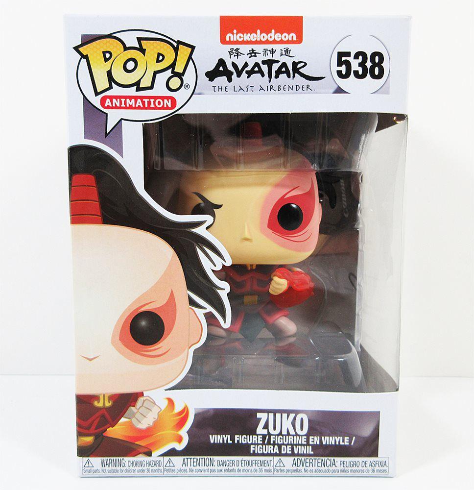 Funko Pop Avatar The Last Airbender Zuko  - Game Land Brinquedos