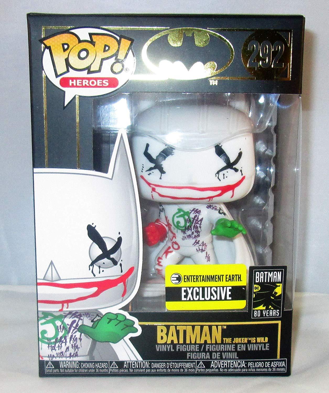 Funko Pop Batman The Joker is Wild Exclusivo EE 292  - Game Land Brinquedos