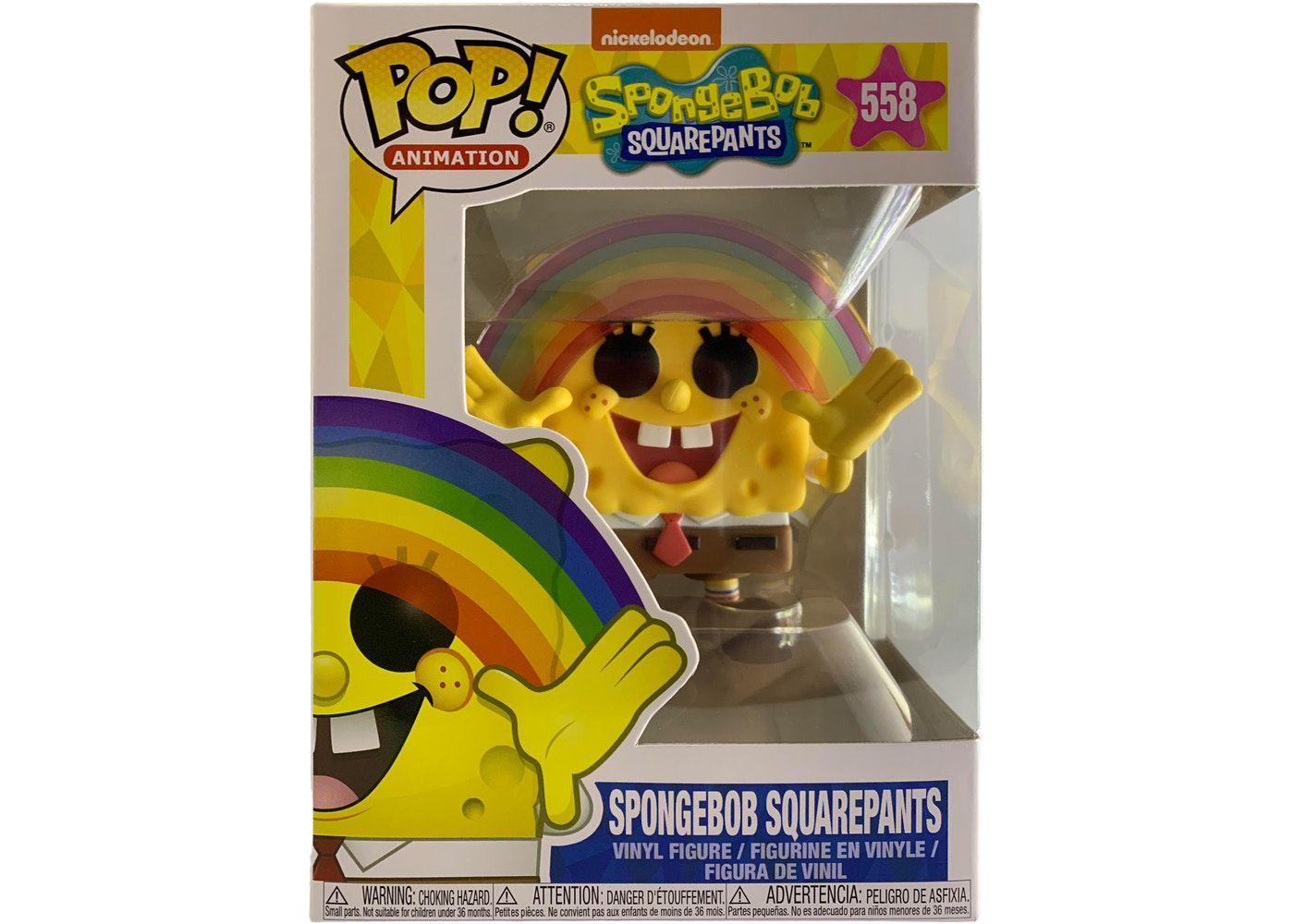 Funko Pop Bob Esponja Spongebob Arco Iris meme 558  - Game Land Brinquedos