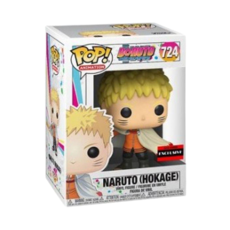 Funko Pop Boruto Naruto Hokage #724 Anime Exclusivo  - Game Land Brinquedos