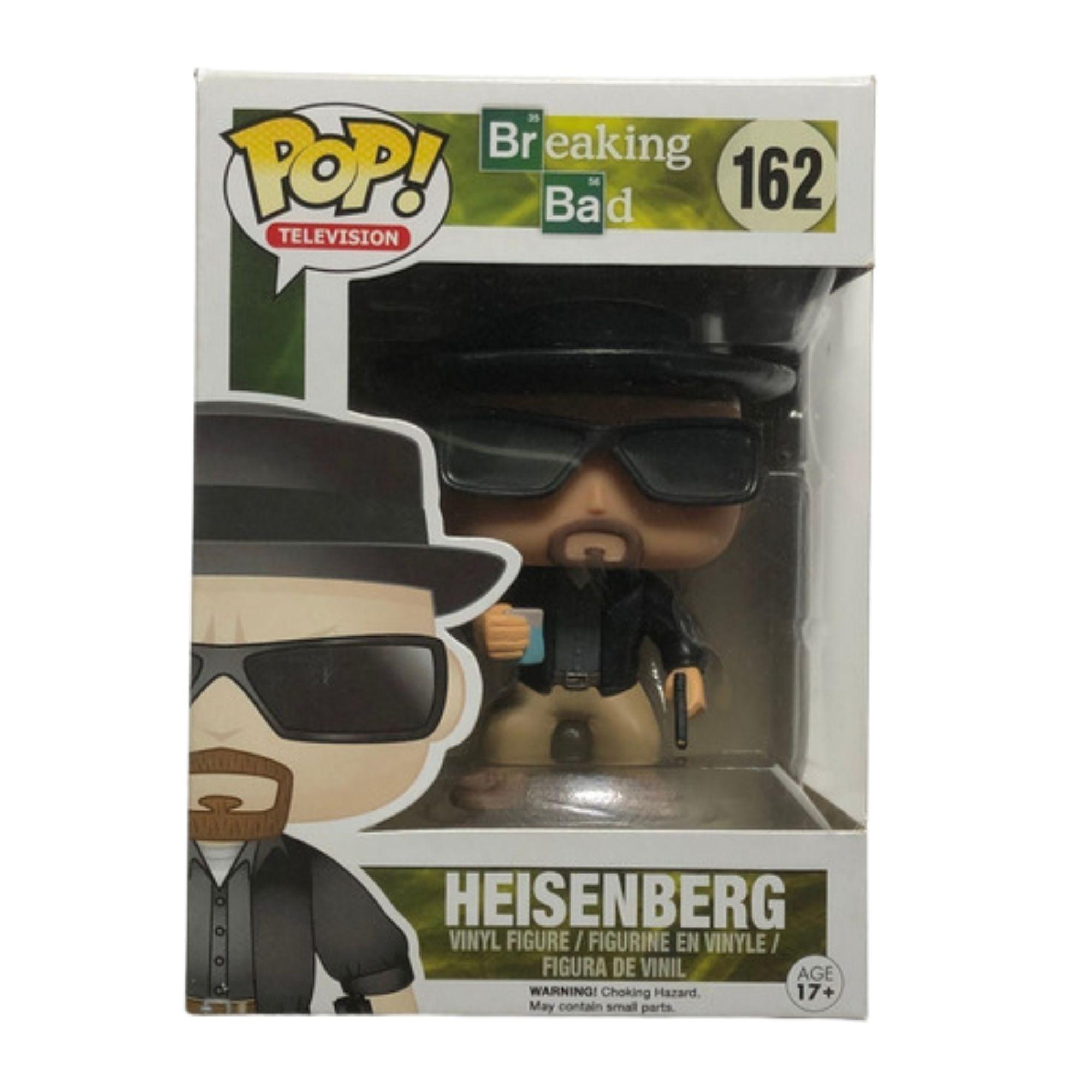 Funko Pop Breaking Bad Heisenberg #162  - Game Land Brinquedos