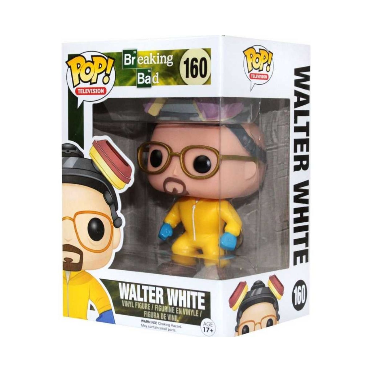 Funko Pop Breaking Bad Walter White #160  - Game Land Brinquedos