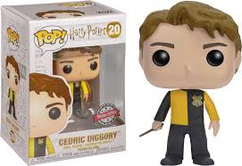 Funko Pop Cedric Especial #20 Harry Potter  - Game Land Brinquedos