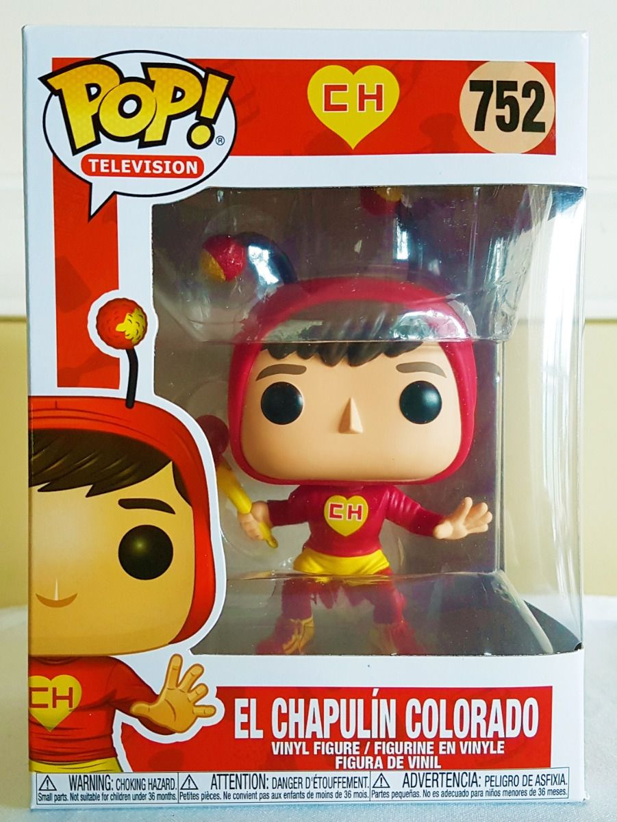 Funko Pop Chapolim Colorado SBT Chaves  - Game Land Brinquedos