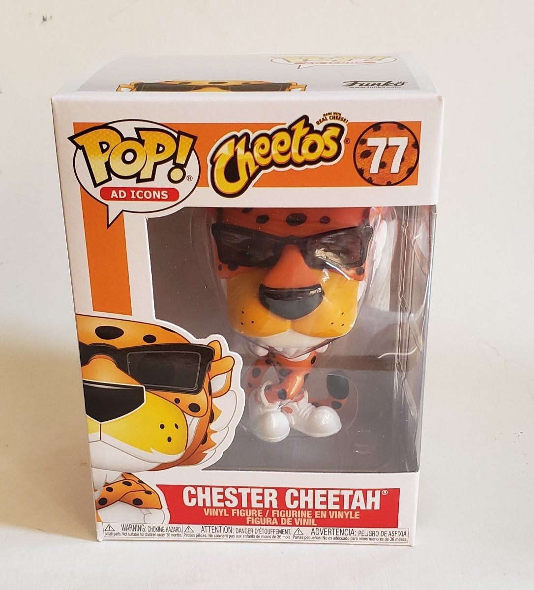 Funko Pop Cheetos Chester Cheetah 77  - Game Land Brinquedos