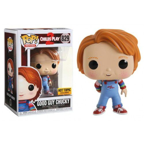 Funko Pop Chucky Good Guy Exclusivo Hot Topic Brinquedo Assassino 2  - Game Land Brinquedos