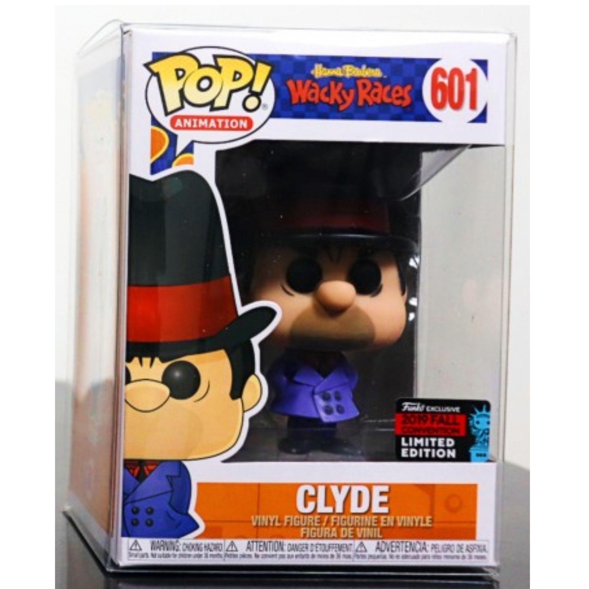 Funko Pop Clyde Wackys Races Hanna Barbera Nycc 2019 #601  - Game Land Brinquedos