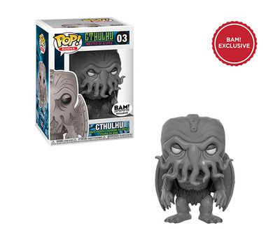Funko Pop Cthulhu Exclusivo BAM   - Game Land Brinquedos