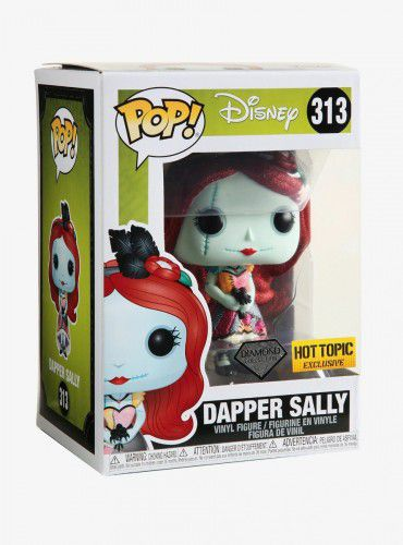 Funko Pop Dapper Sally Diamond Hot Topic Disney  - Game Land Brinquedos