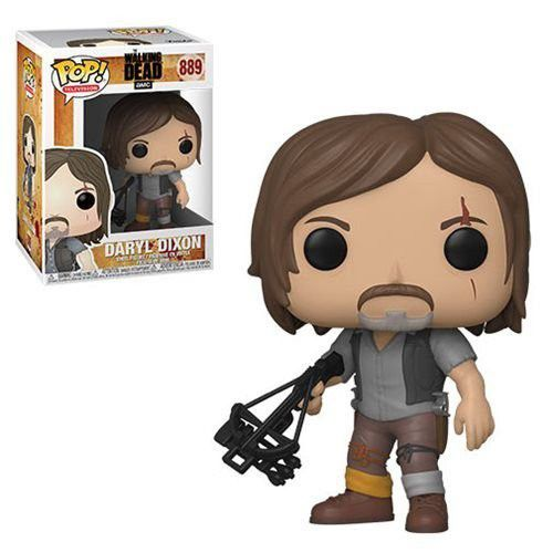 Funko Pop Daryl Dixon The Walking Dead 889  - Game Land Brinquedos