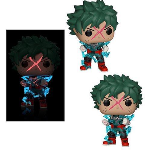 Funko Pop Deku My Hero Academia 596 Glows in the Dark EE Exclusive  - Game Land Brinquedos
