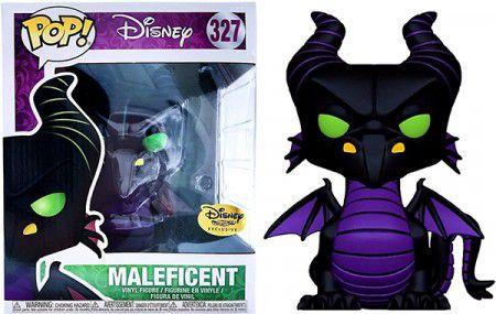 Funko Pop  Disney Dragão Malevola Exclusivo Disney Treasures  - Game Land Brinquedos