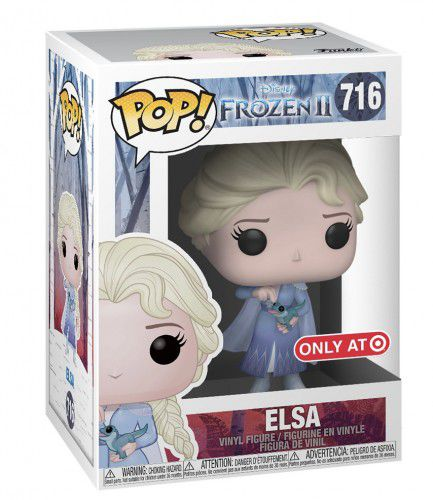 Funko Pop Disney Elsa 716 Frozen 2 Exclusivo Target  - Game Land Brinquedos