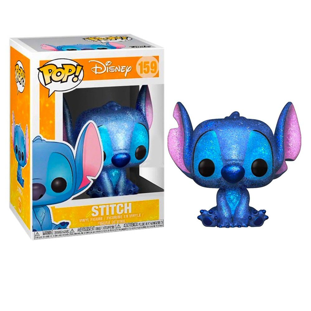 Funko Pop Disney  Lilo & Stitch Stitch Diamond   - Game Land Brinquedos